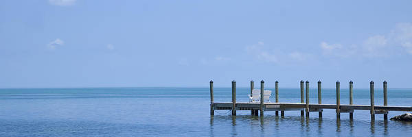 North Atlantic Wall Art - Photograph - Florida Keys Quiet Place Panoramic View by Melanie Viola