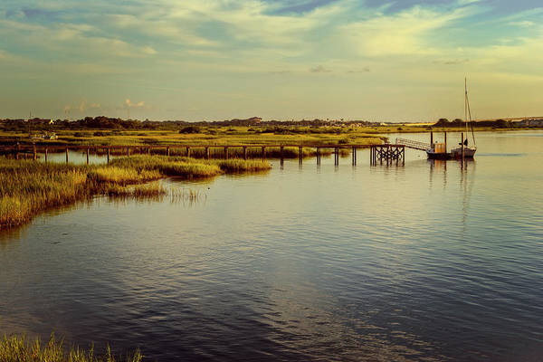 St Augustine Photograph - Florida Morning by Joan Carroll