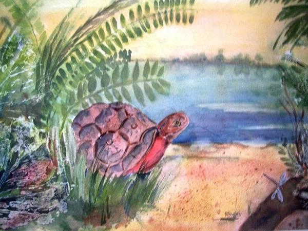 Florida Seacoast Art Print