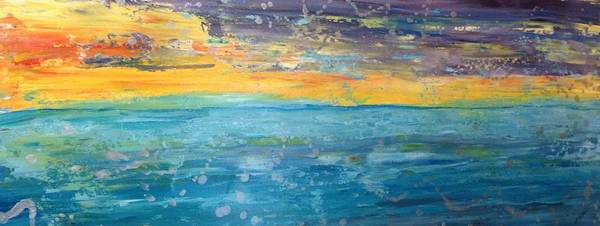 Painting - Florida Sunset by MiMi  Stirn