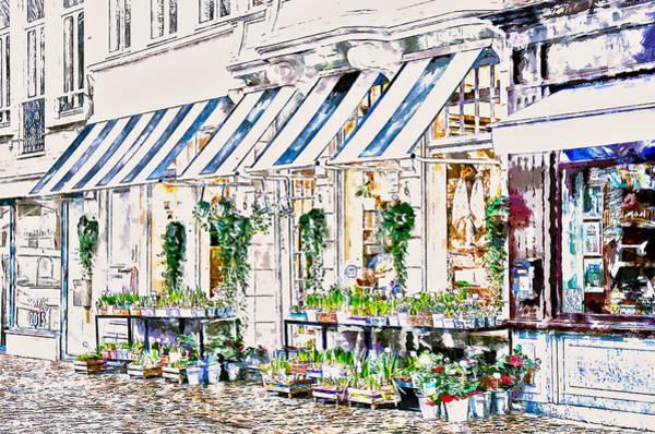 Floristry Photograph - Florist Shop by John K Woodruff