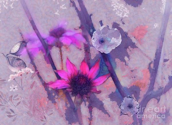 Wall Art - Digital Art - Florus - A2c2k4c2 by Variance Collections