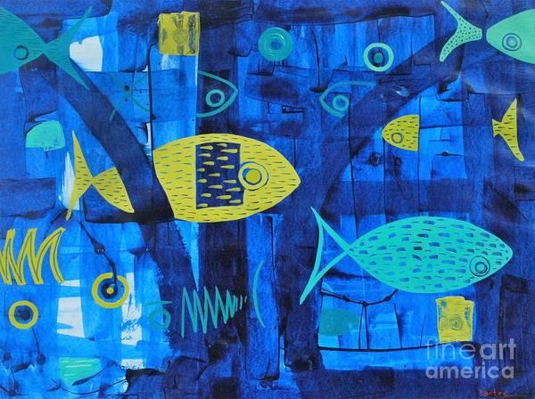 Entangled Painting - Flotsam by Jose Luis Montes