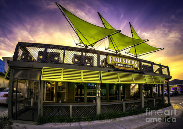Photograph - Flounders Fish House by David Smith