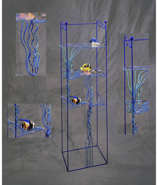 Shelves Mixed Media - Flow by Eric Helin-Hultquist