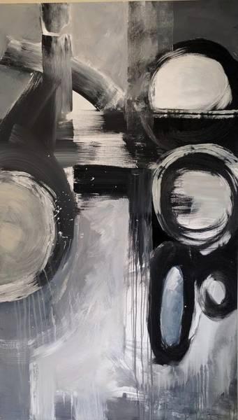 Painting - Flow by Jillian Goldberg