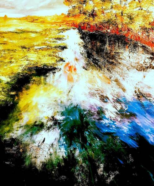 Wall Art - Painting - Flow by Julia S Powell