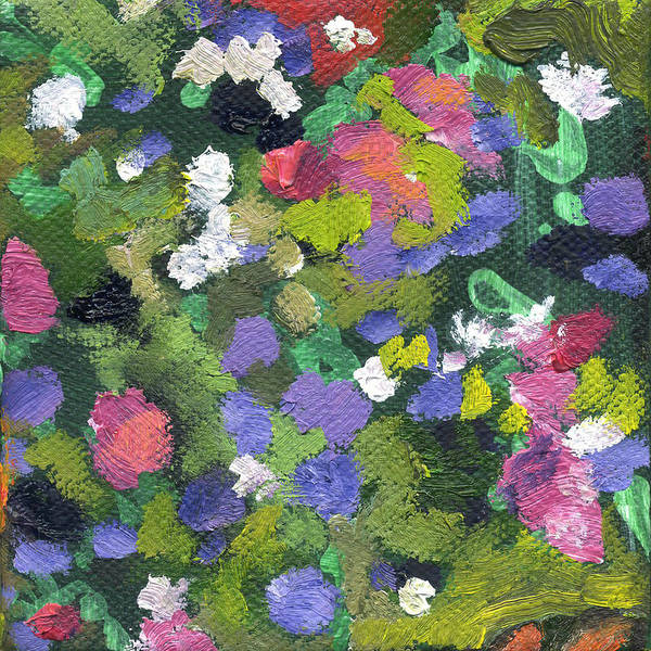 Painting - Flower Aster 2 by Kathleen Barnes