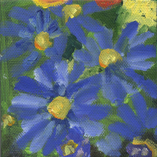 Painting - Flower Blue by Kathleen Barnes