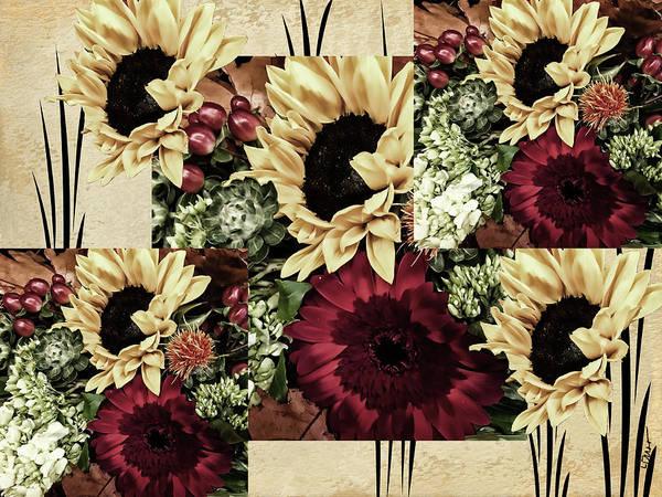 Filoli Photograph - Flower Bonanza by Linda Dunn