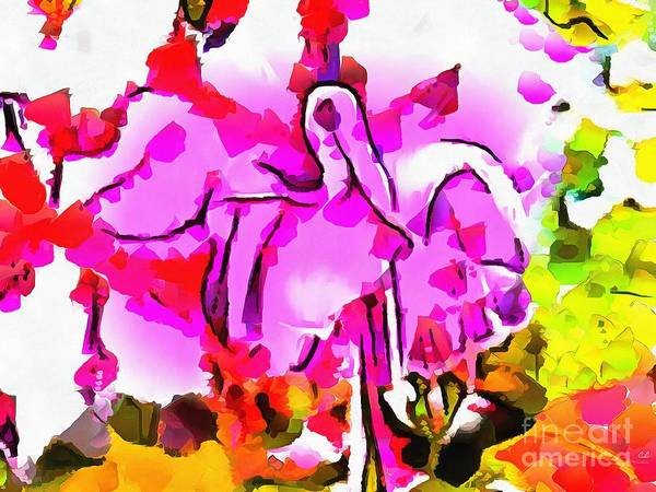 Painting - Flower Dancing by Catherine Lott