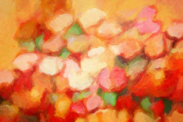 Painting - Flower Decor by Lutz Baar
