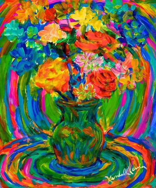 Painting - Flower Energy by Kendall Kessler