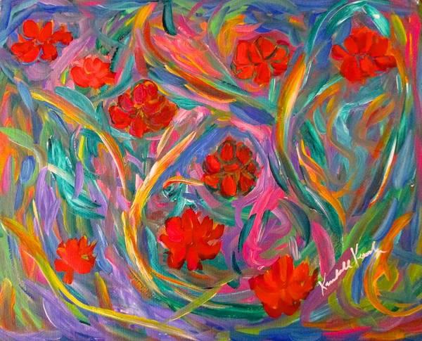 Painting - Flower Fancy  by Kendall Kessler
