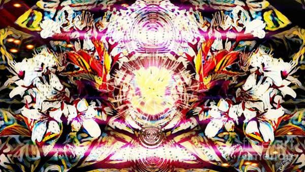Digital Art - Flower Fantasy by Swedish Attitude Design