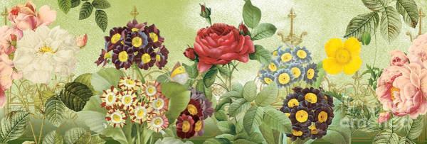 Tulip Bloom Painting - Flower Garden-jp3012 by Jean Plout