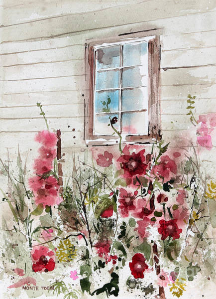Painting - Flower Garden by Monte Toon