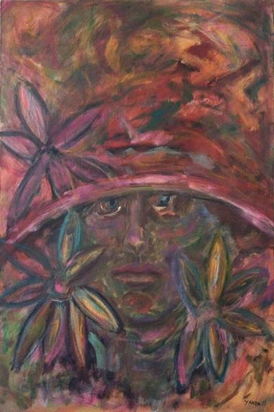 Painting - Flower Girl by Katt Yanda