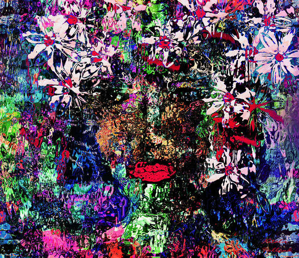 I Phone Case Mixed Media - Flower Girl by Natalie Holland