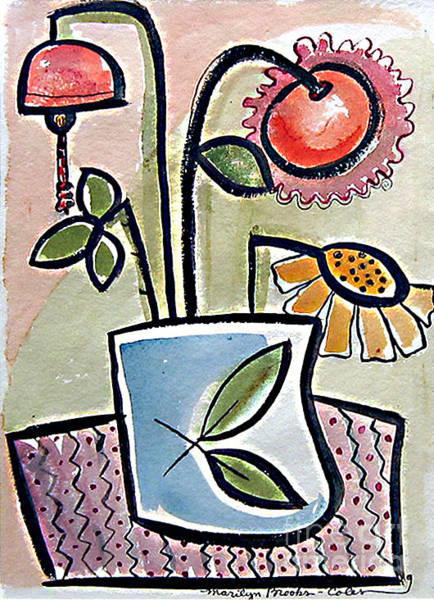 Painting - Flower Jug by Marilyn Brooks