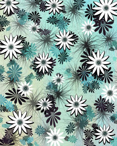 Wild Poppies Digital Art - Flower Jungle by Linda Dunn