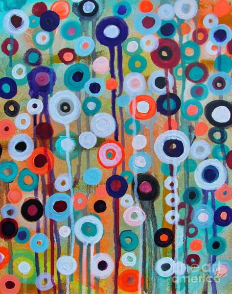 Painting - Flower Medley by Pristine Cartera Turkus