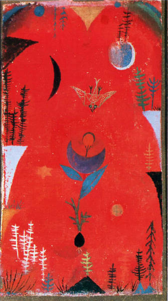 Painting - Flower Myth by Paul Klee
