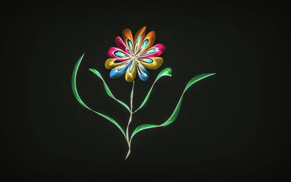 Digital Art - Flower Of Hope by Leif Sohlman