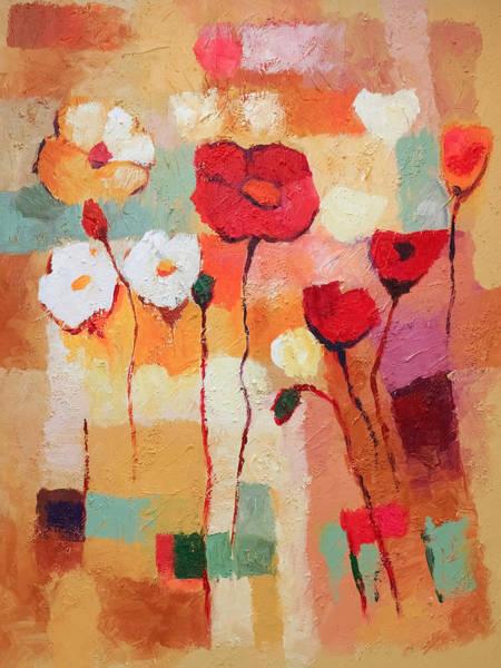 Painting - Flower Parade by Lutz Baar