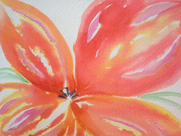 Wall Art - Painting - Flower Part 2 by Nadine Cotton