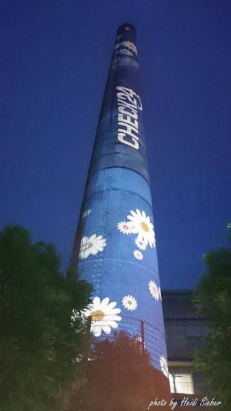 Photograph - Flower Power Tower by Heidi Sieber