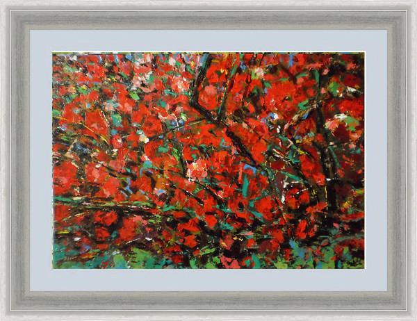Wall Art - Painting - Flower Quince by Vladimir Vlahovic