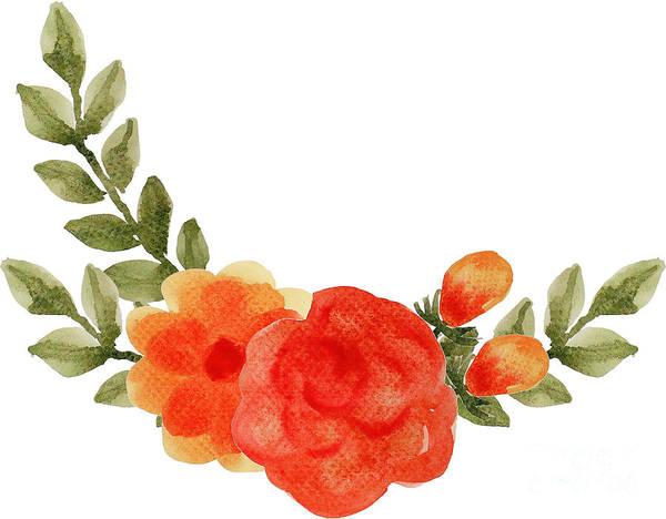 Digital Art - Flower by Rasirote Buakeeree
