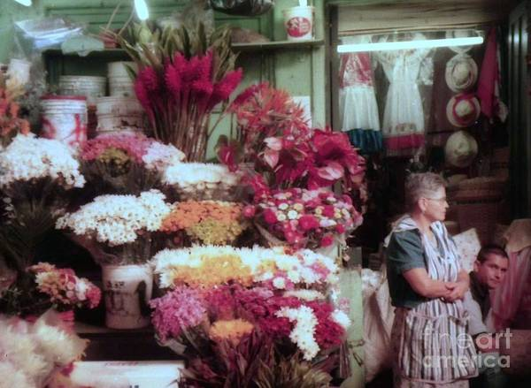Photograph - flower shop San Jose by Ted Pollard