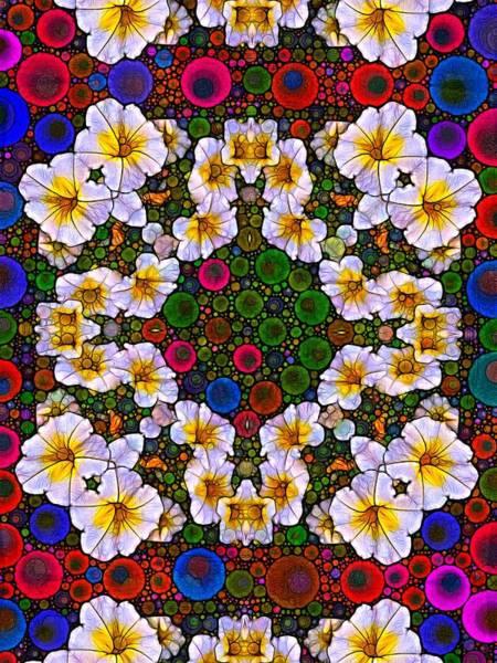 Digital Art - Flower Splash by Nick Heap