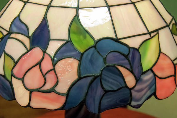 Photograph - Flower Stained Glass  by Chris Flees