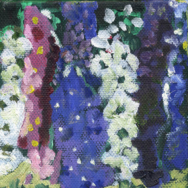 Painting - Flower Stock by Kathleen Barnes