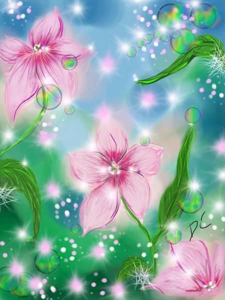 Digital Art - Flower Study Eight by Darren Cannell