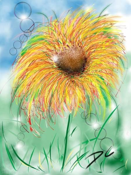 Digital Art - Flower Study Five by Darren Cannell