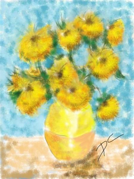 Digital Art - Flower Study Nine by Darren Cannell