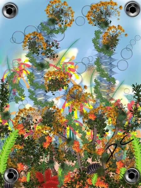 Digital Art - Flower Study Six by Darren Cannell