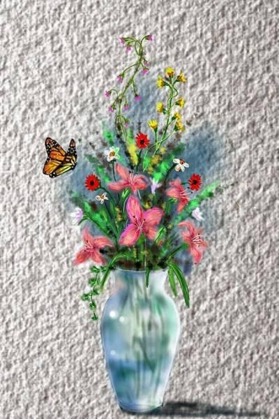 Digital Art - Flower Study Three by Darren Cannell