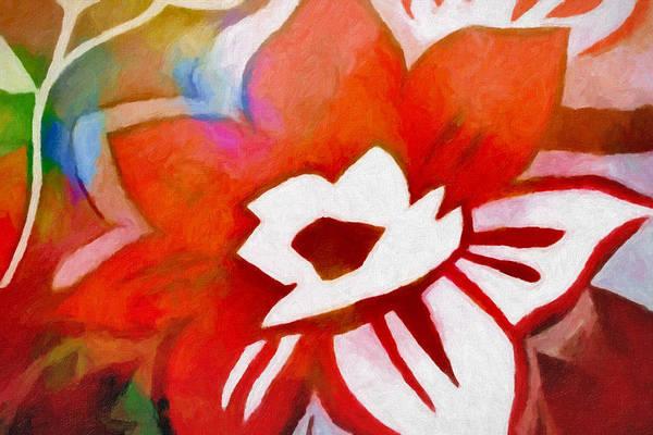 Painting - Flowerdeco by Lutz Baar