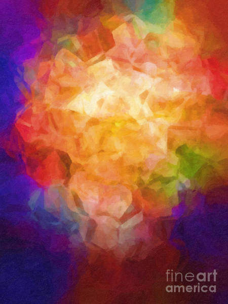 Painting - Flowerpot by Lutz Baar
