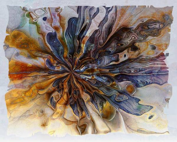 Digital Art - Flowers 003 by Amanda Moore