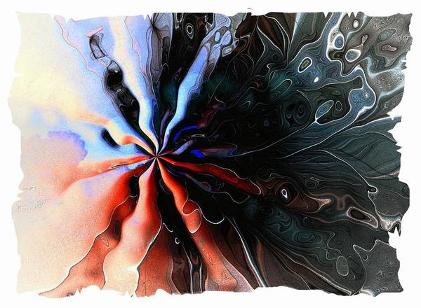 Digital Art - Flowers 009 by Amanda Moore
