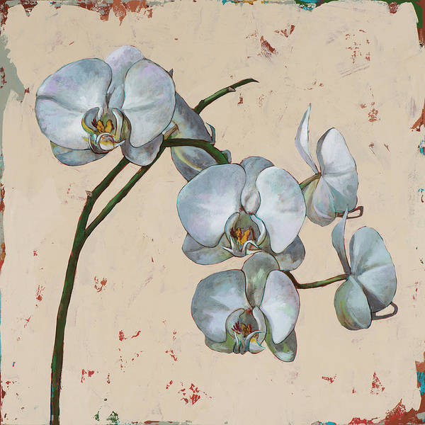 Orchid Painting - Flowers #13 by David Palmer