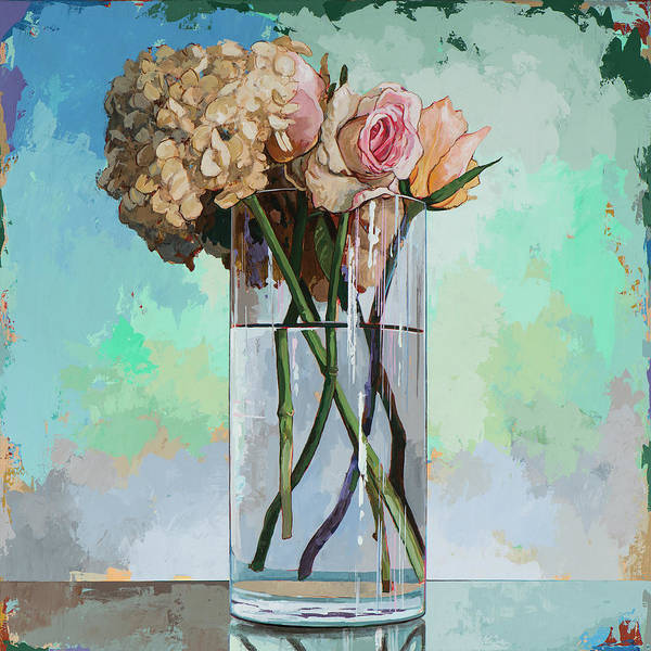 Classical Wall Art - Painting - Flowers #18 by David Palmer