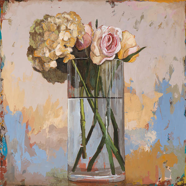 Floral Still Life Painting - Flowers #2 by David Palmer
