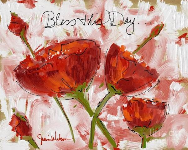 Painting - Flowers #2 by Jeanie Watson